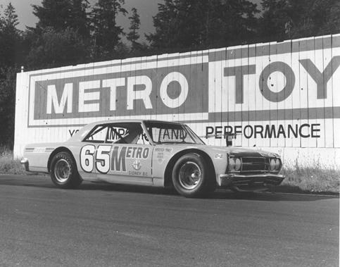 Gary Kershaw 1984 Inductee Victoria Auto Racing Hall Of